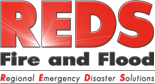 Red's Fire and Flood Logo