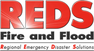 Red's Fire and Flood Retina Logo